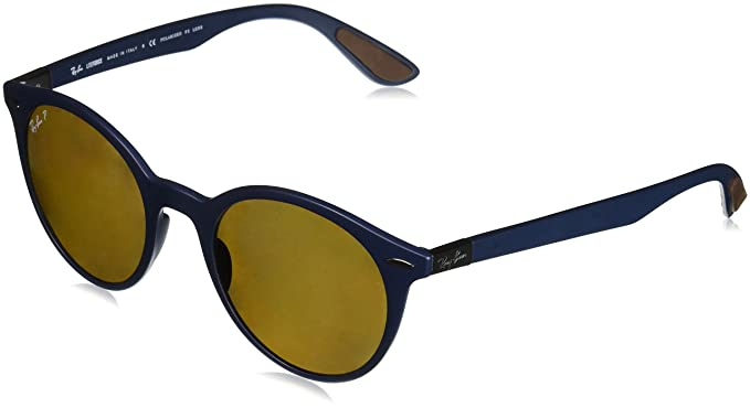 81ed065a50 Image Unavailable. Image not available for. Color  Ray-Ban Plastic Unisex Sunglass  Polarized Round