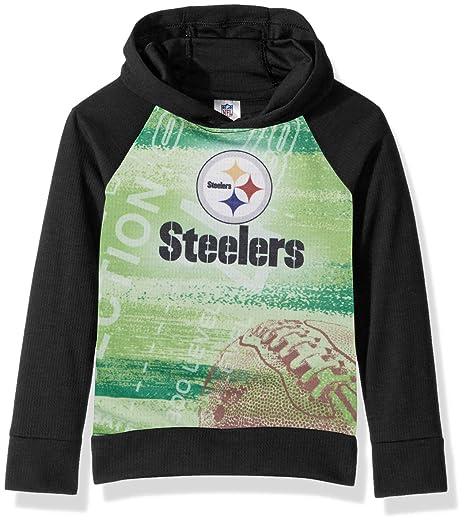 online store 8ef6c b9179 NFL Pittsburgh Steelers Unisex Pullover Hoodie, Black, 3T