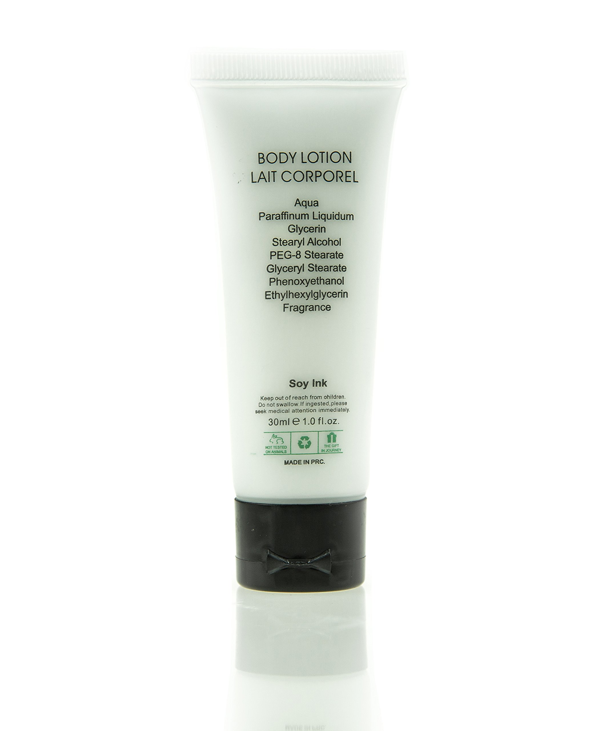 Flip Cap Tube Body Lotion - back