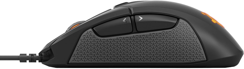 SteelSeries Sensei Ten Gaming-Maus TrueMove Pro Optical Sensor mit 18.000 CPI, Beidh/ändiges Design, 8 programmierbare Tasten