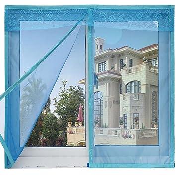 Silent,magnetico,tenda della finestra/tenda anti-zanzara/banda ...