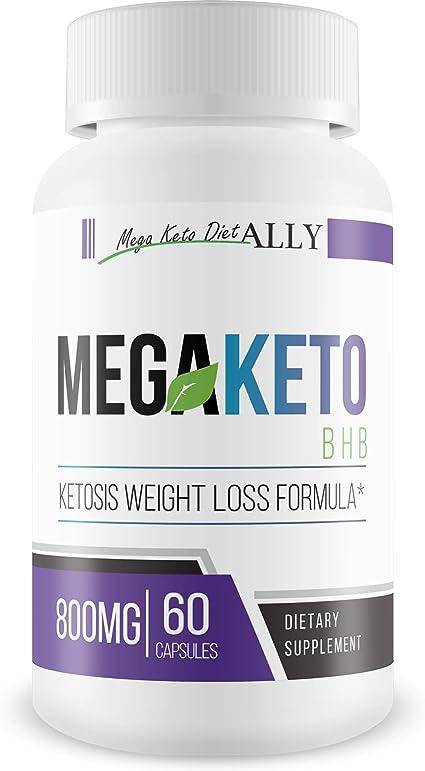 Amazon.com: Mega Keto Bhb - Calcium Bhb Keto Diet Booster - Burn ...