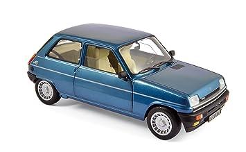 Norev NV185157 1:18 1981 Renault 5 Alpine Turbo - Azul Marino: Amazon.es: Juguetes y juegos