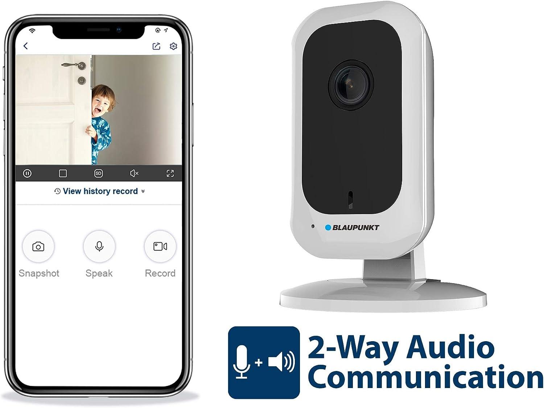 Blaupunkt Indoor Full Hd Überwachungskamera H30 Der Vio Serie Ip 1296p Überwachungskamera Weis Baumarkt