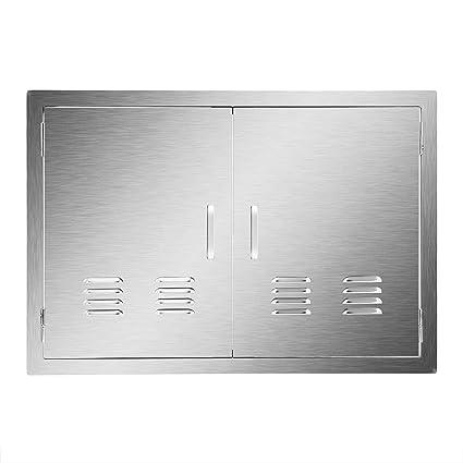 Amazon.com: CO-Z Puerta de acceso de acero inoxidable, 304 ...