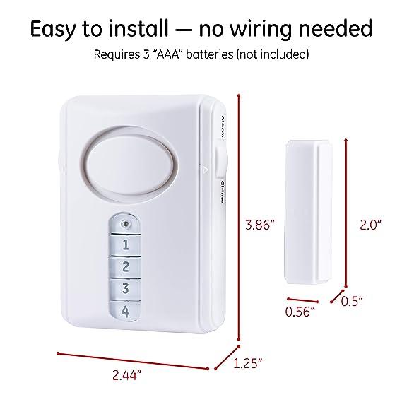 Amazon.com: Jasco Productos 45117Alarma de puerta ...