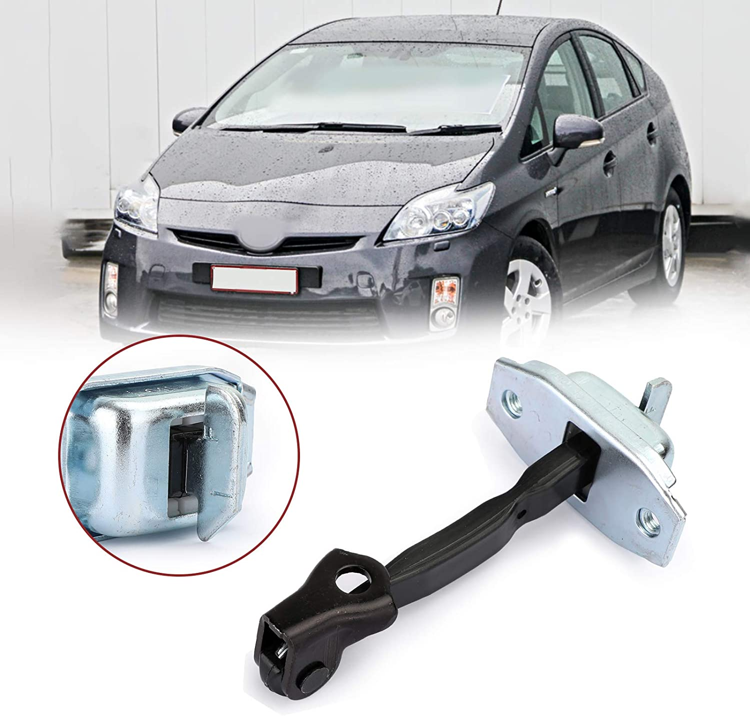 Areyourshop Front Door Stay Check Strap Stopper 68620-02061 Fit For TO-YO-TA Corolla Matrix