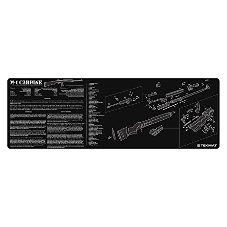 Surprising Amazon Com Tekmat M1 Carbine Cleaning Mat 12 X 36 Thick Durable Wiring 101 Photwellnesstrialsorg