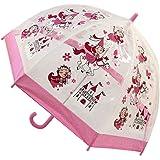 Bugzz - Parapluie transparent Fille - Modèle Princesse