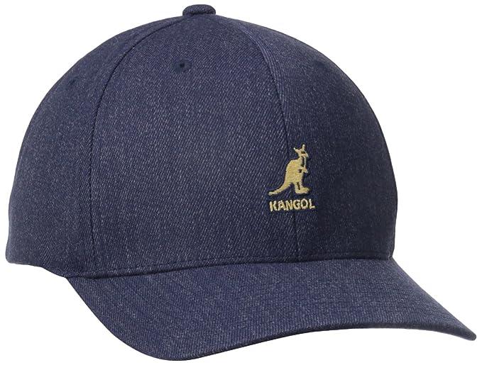 Kangol Men/'s Flexfit Dark Blue Baseball Cap Hat