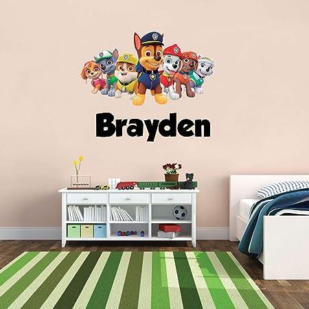 Custom Name Series Wall Decal Nursery Vinyl Sticker for Home Wall Decor