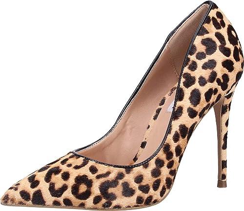 tirano Peladura Dispersión  Steve Madden Women's Daisie-L Closed Toe Heels, Multicolour (Leopard 969),  9 UK: Amazon.co.uk: Shoes & Bags