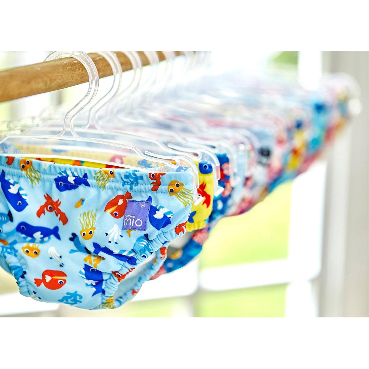 Reusable Swim Diaper Bambino Mio 0-6 Months Small Blue Squid