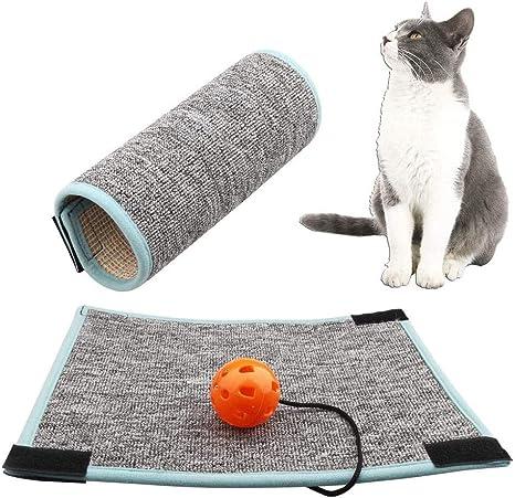 EIKLNN Alfombrilla para Rascar Gato, Rascador para Gatos de Patas de Mesa, Protector para Esquina de Sofá o Sillón, para Moler Garras y Proteger ...