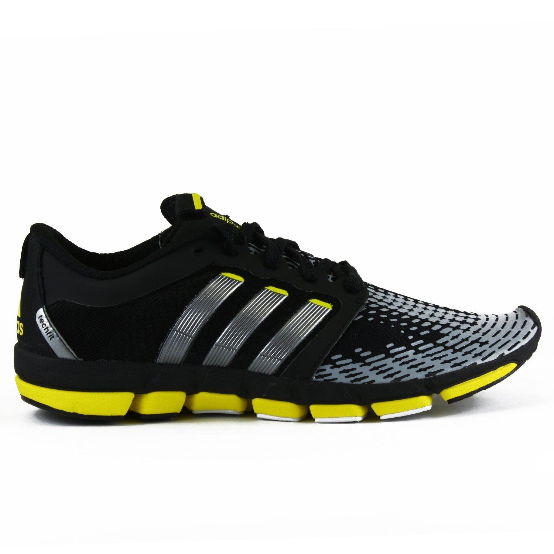 factory price b3480 bb815 Adidas Adipure Motion Running Shoes - BlackNeo Iron MettalicVivid Yellow  (Men) - 9.5 Amazon.ca Shoes  Handbags