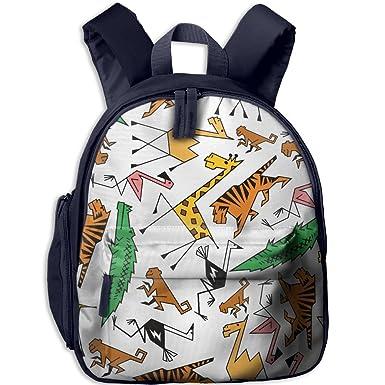 Toddler Pre School Backpack Boy girl s African Jungle Safari Animals ... 2816d29184f35