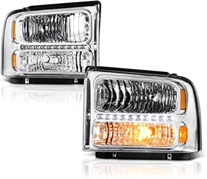 NEW HEAD LAMP ASSEMBLY RIGHT FITS 2005-2007 FORD F-250 SUPER DUTY 6C3Z13008CB