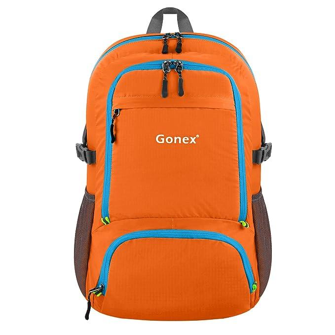 42 opinioni per Gonex 30L Zaino da viaggio Pieghevole Impermeabile Zaino Ultraleggero in nylon