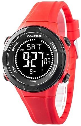 GüNstiger Verkauf Sportliche Herren Xonix Armbanduhr Datum Hintergrundlicht Wr100m Armband- & Taschenuhren Armbanduhren