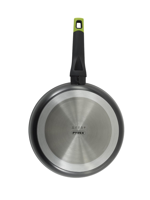 Pyrex Optima - Sartén de aluminio forjado 24 cm, 3,8mm espesor, Inducción: Amazon.es: Hogar