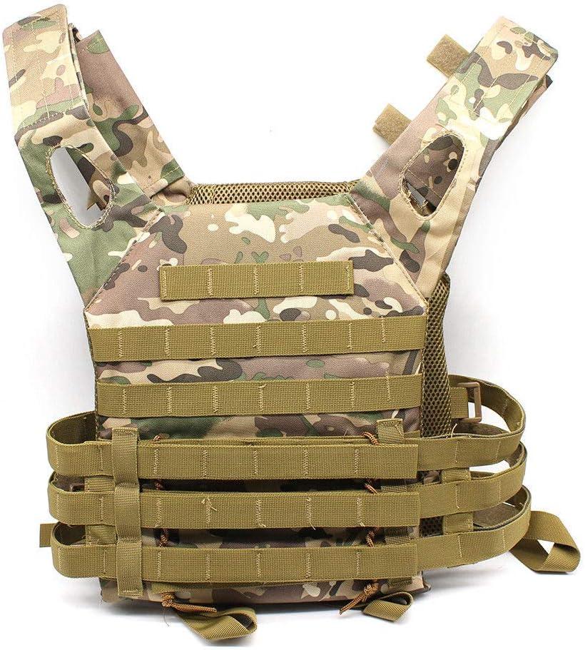 RANZIX Taktische Airsoft Paintball Combat Milit/är Swat Weste Taktische Einsatzweste PLPC Weste Taktische Carrier Weste Brustsch/ützer f/ür CS