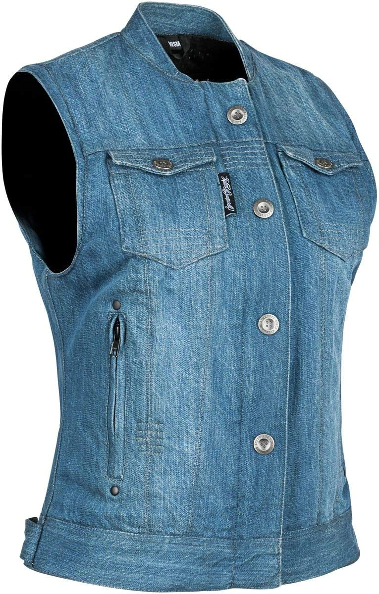 Speed and Strength Womens Glory Daze Vest Large Blue