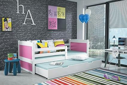 Interbeds Cama Nido Rico 2 160 x 80 Color Blanco con 2 ...