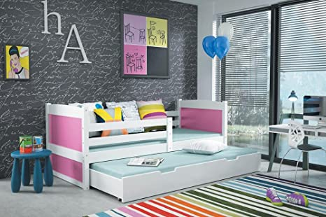 Interbeds Cama Nido Rico 2 160 x 80 Color Blanco con 2 colchones de Espuma +