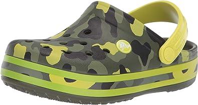 Crocs Kids Boys and Girls Crocband Camo Graphic Clog