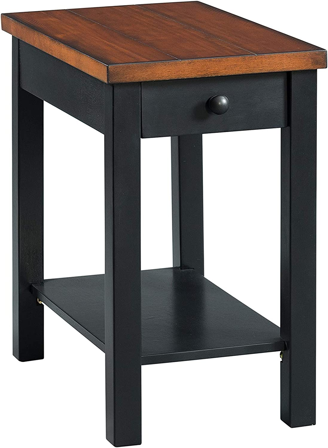 Lane Home Furnishings Chairside Table - Power, Lift-Top Cocktail, Black