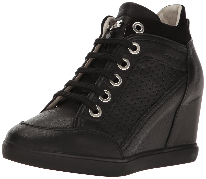 Geox Women's Eleni 31 Sneaker B01MYPXLHL 37 M EU (7 US)|Black