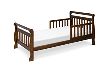 amazon com davinci sleigh toddler bed espresso da vinci toddler rh amazon com wood toddler bed canada wood toddler bed house