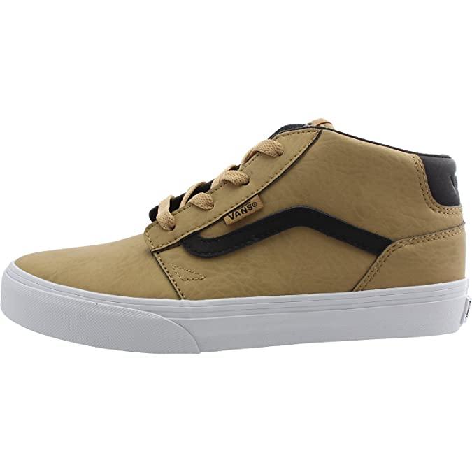 Vans YT Chapman Mid Tan Leather 36 EU