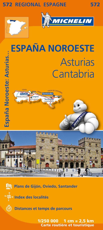 Espana noroeste : asturias, cantabria Régional Espagne: Amazon.es ...