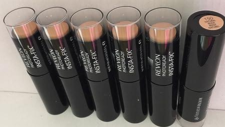 Revlon PhotoReady Insta-Fix Makeup, 150 Natural Beige, Pack of 6