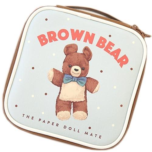 d98b5fd422289 Afrocat Paper Doll Mate Better Beauty Pouch S Cosmetic Travel Bag Organizer  (Brown Bear(