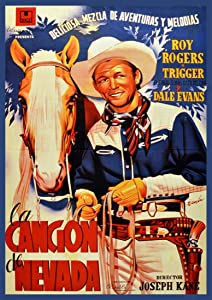"""20""""x30"""" Decoration Poster Reproduction.Nevada's Song.Roy Rogers and Trigger Horse.Cowboy Western Movie"""