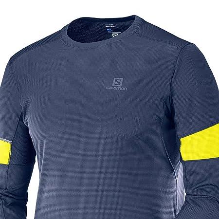 Ls Agile Aire Tee Shirt Salomon Deportes Amazon Hombre Libre Y es xBw6nn