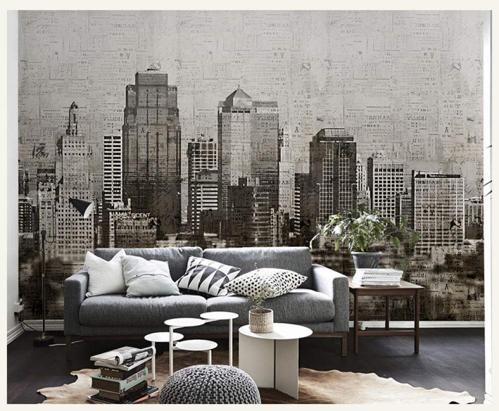 Hdoubr New York City Night Scenery 3d Photo Mural Wallpaper