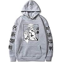 قمصان بغطاء رأس بنمط ياباني أنيمي سوكونا بنمط ياباني Jujutsu Kaisen قمصان الشارع للنساء والرجال
