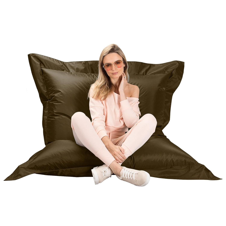Fabulous Amazon Com Big Bertha Original Xl Olive Beanbag Indoor Machost Co Dining Chair Design Ideas Machostcouk