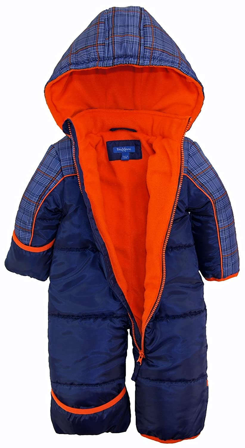 af6c9d799053 Amazon.com  iXtreme Baby Boys Plaid Expedition Puffer Winter ...