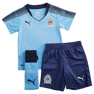 c4921b5ec Puma Newcastle United 2017 18 Away Kit Children  Amazon.co.uk ...
