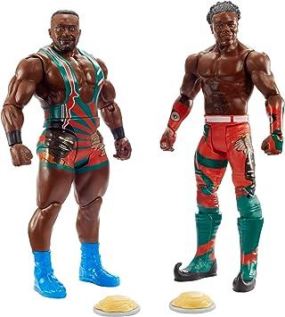 WWE Pack de Dos Luchadores, Figuras Big E & Xavier Woods (Mattel GLB25): Amazon.es: Juguetes y juegos