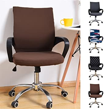 Stuhlhusse Stuhlbezug Bezug Sitzbezug für Bürostuhl Chefsessel ...