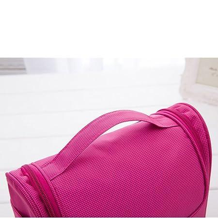 Viajes Bolsa de trabajo colgante AlfarTec Fundas impermeables de la vanidad Cosméticos Bolso Mujer Bolso Hombres Portátiles Bolsas de viaje Bolsas de viaje ...