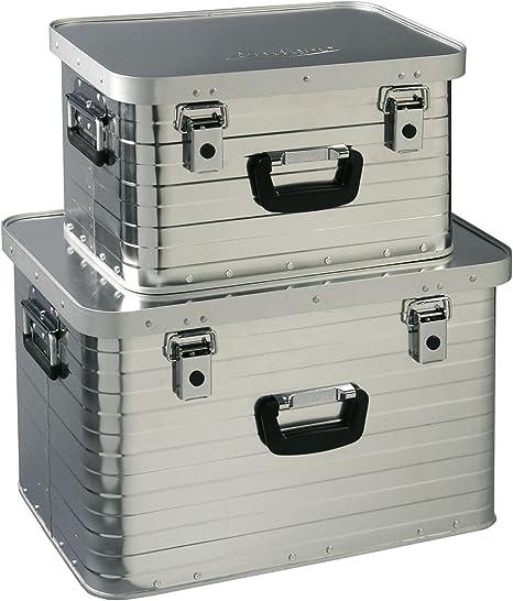 Enders aluminiumbox Set Toronto 29 L et 63 L Transport Box Camping Boîte