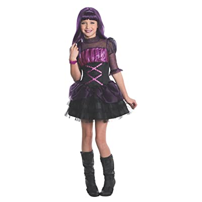 Rubies Monster High Frights Camera Action Elissabat Costume, Child Large: Toys & Games