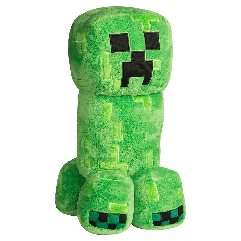 "JINX Minecraft Grand Adventure Creeper Plush Stuffed Toy, Green, 16"""