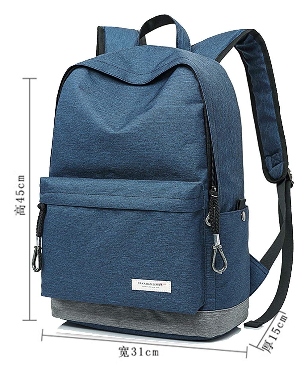 cee2f0d96c45 Amazon.com: Hkiss Backpack Business Travel Durable School Student ...